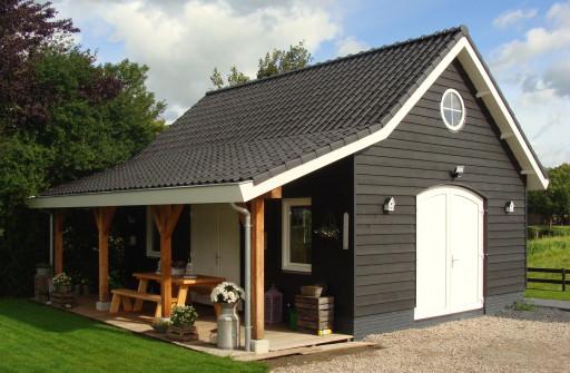 Garage Met Veranda : Garage met veranda erik wiltenburg